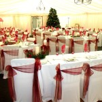 Chair Covers In Marquee Wedding From County Durham Wedding DJ