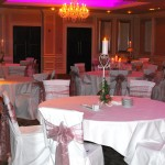 Chair Covers In Pink From County Durham Wedding DJ