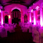 LED Moodlighting At St Hild & St Bede of Durham University