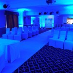 Mood Lighting - LED Uplighting At The Eden Arms Hotel At Rushyford In County Durham