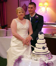 THE HALL GARTH HOTEL WEDDING RECEPTION DISCO FOR APRILLE AND RICHARD PROVIDED BY COUNTY DURHAM WEDDING DJ