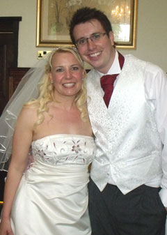 COUNTY DURHAM WEDDING DJ AT BEAMISH HALL HOTEL FOR THE WEDDING OF JO & CHRIS