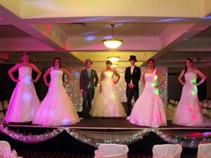 COUNTY DURHAM WEDDING DJ AT REDWORTH HALL HOTEL WEDDING FAYRE