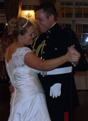MORRITT ARMS HOTEL IN BARNARD CASTLE WEDDING FOR JENNY & BEN PROVIDED BY COUNTY DURHAM WEDDING DJ