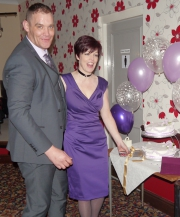 STOCKTON CRICKET CLUB ENGAGEMENT PARTY DISCO FOR ELAINE & ROBERT PROVIDED BY COUNTY DURHAM WEDDING DJ