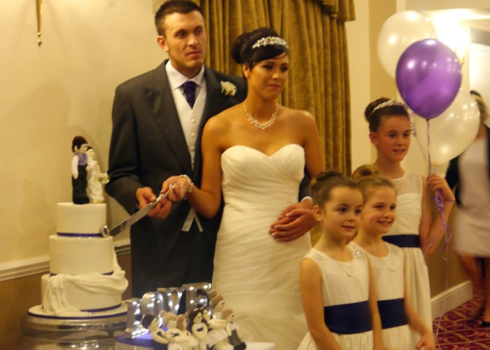 WEDDING RECEPTION DJ AND MOBILE DISCO AT THE EDEN ARMS HOTEL (RUSHYFORD) FOR HELEN & RICHARD