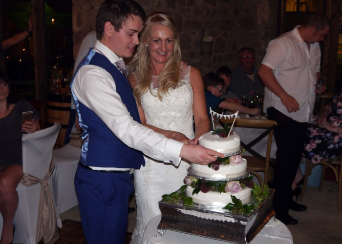 WEDDING DISCO AT THE SADDLE ROOM (BAR & RESTAURANT) FOR HARRIET & THOMAS PROVIDED BY COUNTY DURHAM WEDDING DJ
