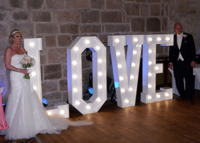 LANGLEY CASTLE HOTEL WEDDING DISCO PROVIDED BY COUNTY DURHAM WEDDING DJ FOR SAMANTHA & DAVID